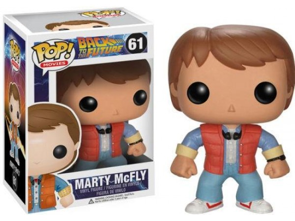 FUNKO POP BACK TO THE FUTURE MARTY MCFLY