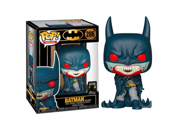 FUNKO POP BATMAN RED RAIN 80TH FIGURU
