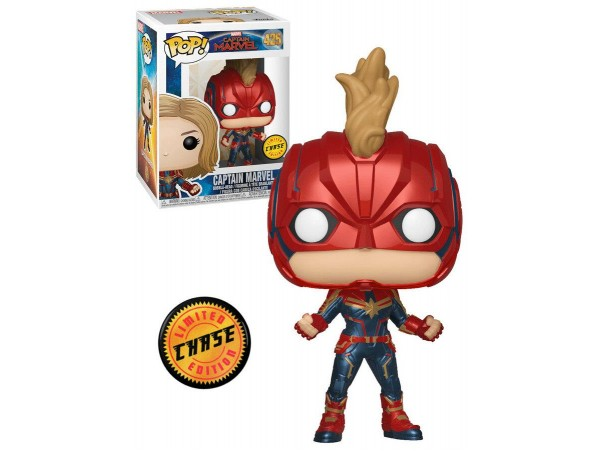FUNKO POP CAPTAIN MARVEL CHASE LIMITED EDITION
