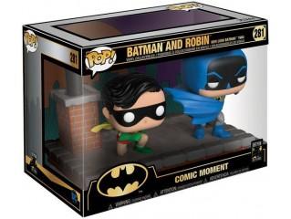 Funko Pop Comic Moments 80th Batman And Robin New Look