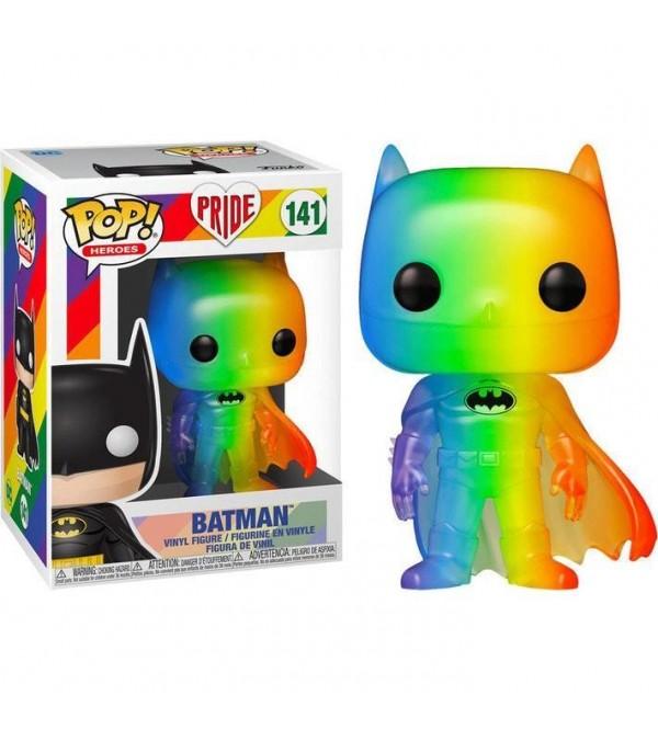 FUNKO POP DC HEROES PRIDE 2020 BATMAN (RNBW) FIGURU