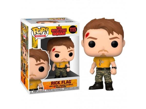 Funko Pop Dc The Suicide Squad - Rick Flag Figürü