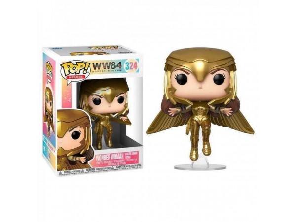 Funko Pop Dc Wonder Woman 1984 Gold Flying Figürü