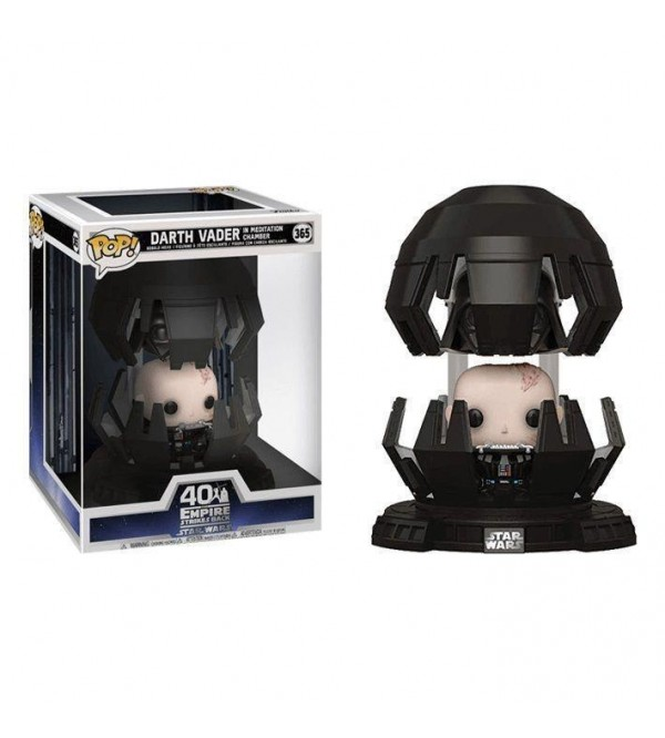 FUNKO POP DELUXE STAR WARS DARTH VADER IN MEDITATION CHAMBER