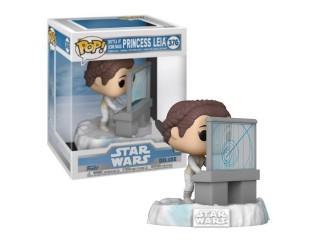 Funko Pop Deluxe Star Wars Princess Leia Special Edition Figürü