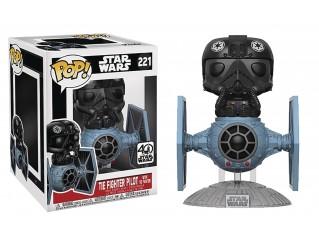 Funko Pop Star Wars Deluxe Tie Fighter With Tie Pilot 6 Inch