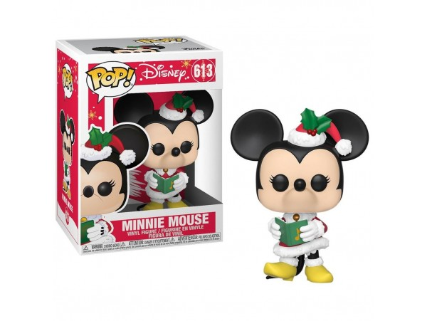 FUNKO POP DISNEY HOLIDAY MINNIE MOUSE FIGURU