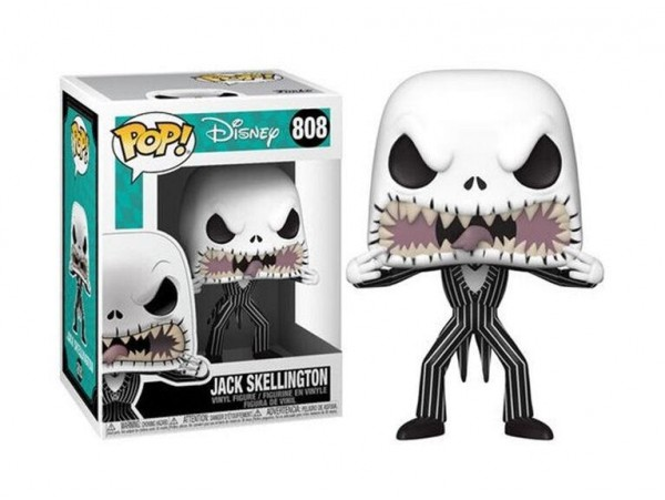 Funko Pop Disney Nightmare Before Christmas Jack Skellington Scary Face