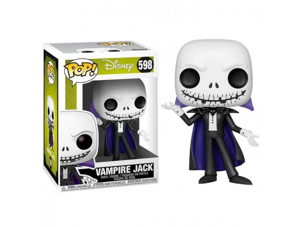 FUNKO POP DISNEY THE NIGHTMARE BEFORE CHRISTMAS S6 - VAMPIRE JACKL FIGURU