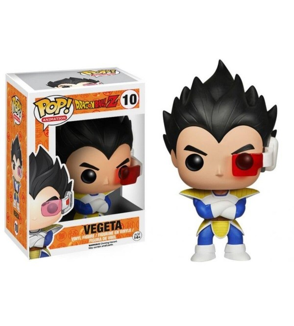 FUNKO POP DRAGON BALL Z VEGETA NO10 FIGURU