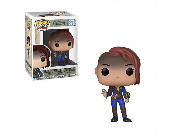 FUNKO POP FALLOUT VAULT DWELLER FEMALE FIGURU