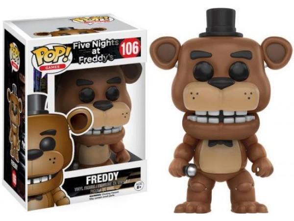 FUNKO POP FIVE NIGHTS AT FREDDYS FREDDY FIGURU
