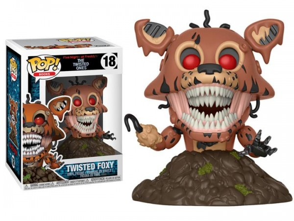 FUNKO POP FIVE NIGHTS AT FREDDYS TWISTED FOXY