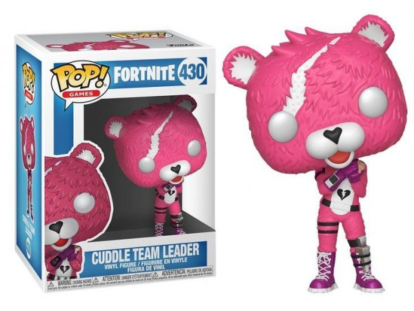 FUNKO POP FORTNITE CUDDLE TEAM LEADER FIGURU