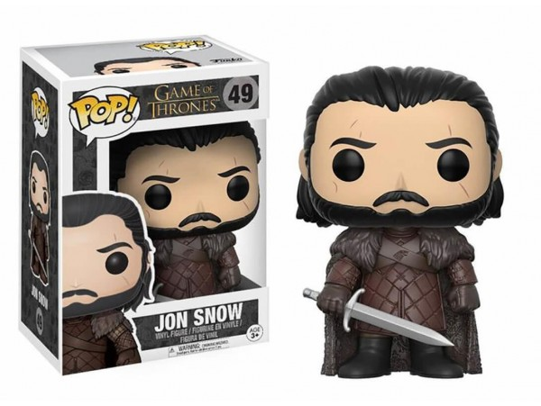 FUNKO POP GAME OF THRONES JON SNOW FIGURU