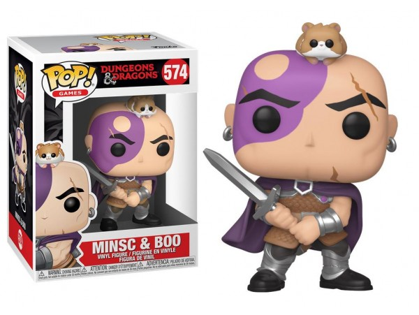 Funko Pop Games Dungeons & Dragons Minsc & Boo Figürü