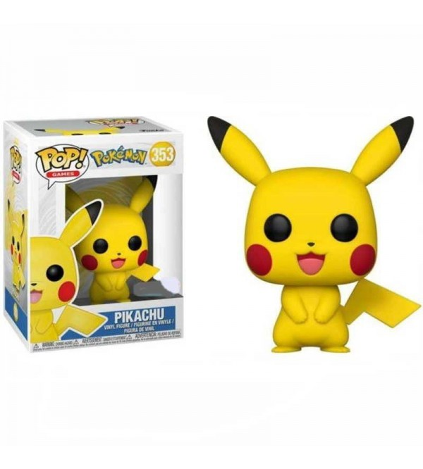 FUNKO POP GAMES POKEMON PIKACHU FIGURU