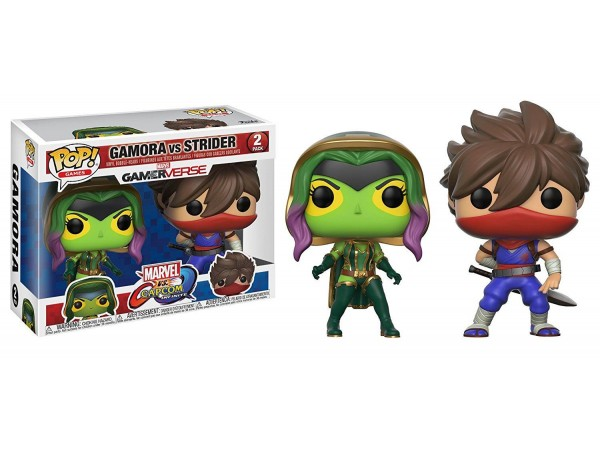 FUNKO POP GAMORA VS STRIDER FIGURU