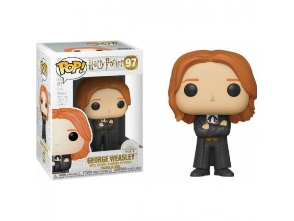 FUNKO POP HARRY POTTER GEORGE WEASLEY YULE FIGURU