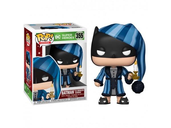 FUNKO POP HEROES DC HOLIDAY SCROOGE BATMAN FIGURU