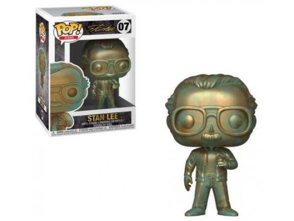 FUNKO POP ICONS STAN LEE - PATINA COLOR