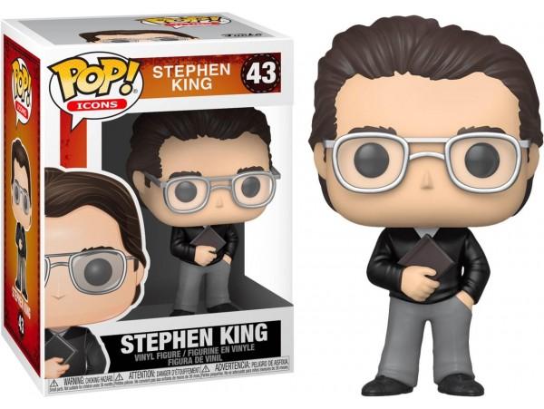 Funko Pop Icons Stephen King Figürü