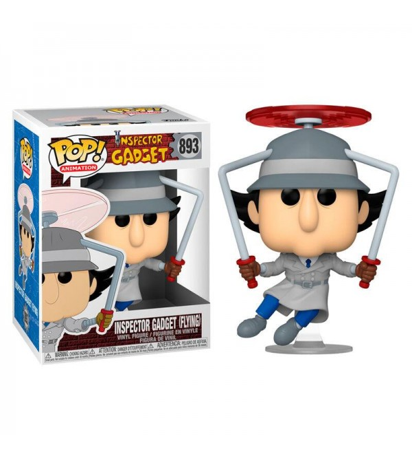FUNKO POP INSPECTOR GADGET FLYING FIGURU