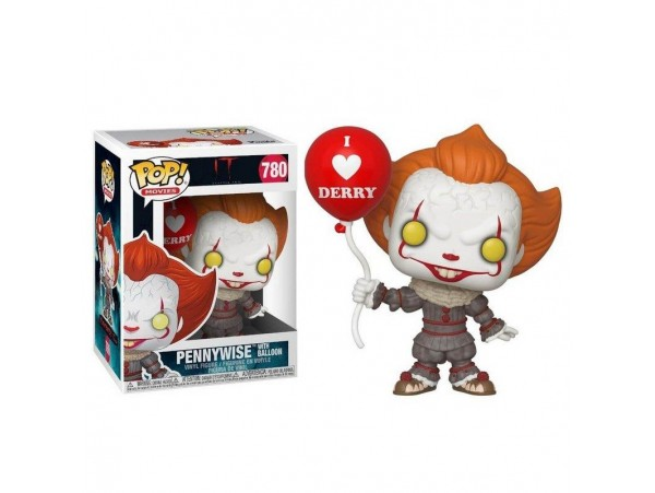 FUNKO POP IT CHAPTER TWO PENNYWISE WITH BALLON FIGURU