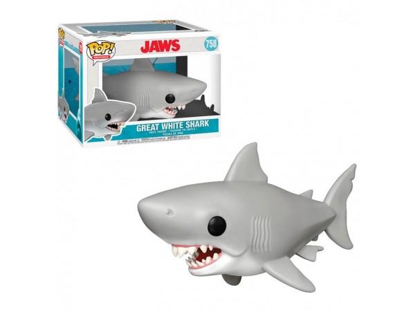 FUNKO POP JAWS 6 INCH GREAT WHITE SHARK FIGURU