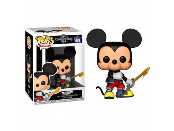 FUNKO POP KINGDOM HEARTS MICKEY FIGURU