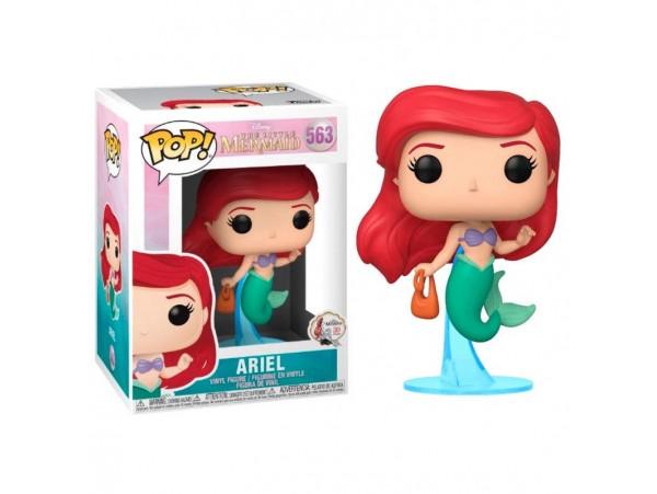 Funko Pop Little Mermaid Ariel With Bag Figürü