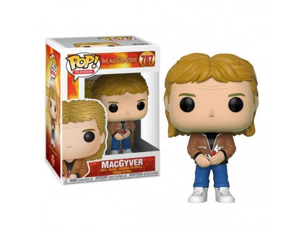 FUNKO POP MAC GYVER FIGURU