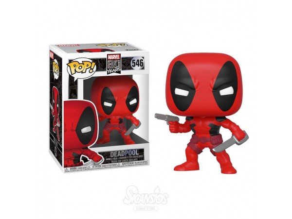 FUNKO POP MARVEL 80 YEARS DEADPOOL FIGURU
