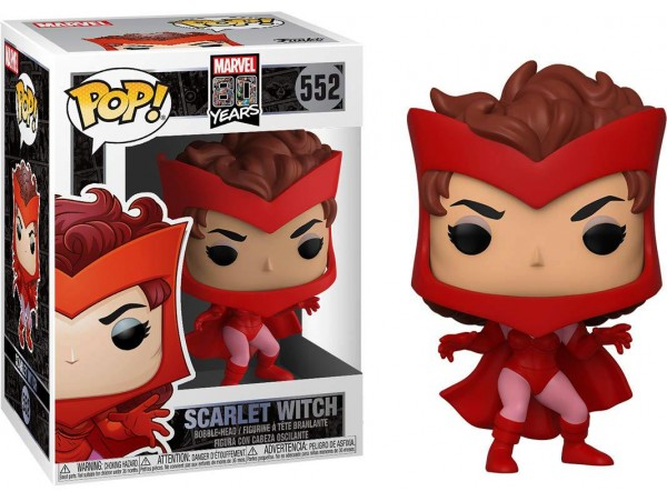Funko Pop Marvel 80 Years Scarlet Witch Fuguru