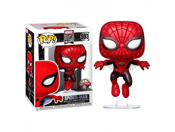 Funko Pop Marvel 80 Years Spider-Man Special Edition Figürü