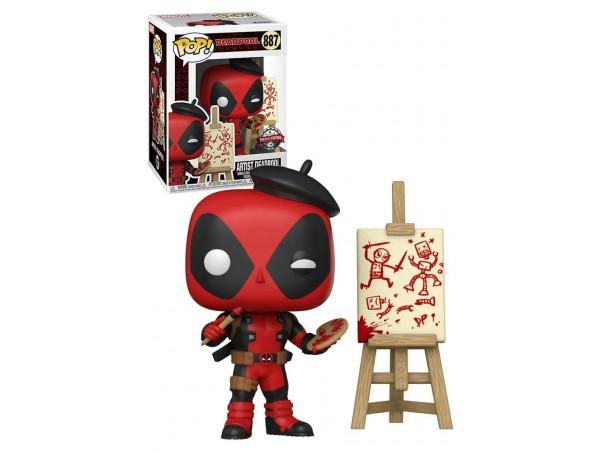 Funko Pop Marvel Artist Deadpool Special Edition Figürü