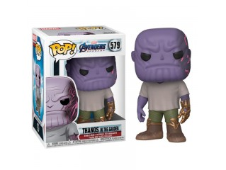 FUNKO POP MARVEL AVENGERS ENDGAME THANOS IN THE GARDEN FIGURU
