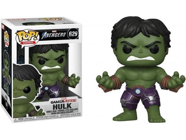 Funko Pop Marvel Avengers Game Hulk (Stark Tech Suit) Figürü