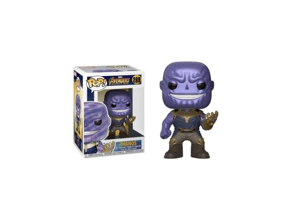 Funko Pop Marvel Avengers Infinity War: Metallic Thanos Special Edition Figürü
