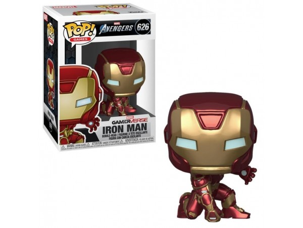 FUNKO POP MARVEL AVENGERS IRON MAN FIGURU NO:626
