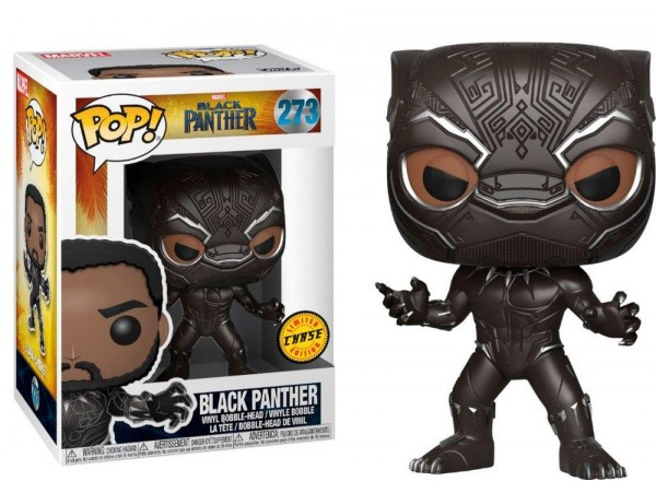 FUNKO POP MARVEL BLACK PANTHER CHASE LIMITED EDITION