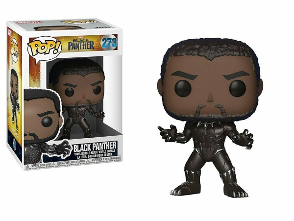 FUNKO POP MARVEL BLACK PANTHER FIGURU