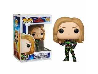 FUNKO POP MARVEL - CAPTAIN MARVEL NEON SUIT FIGURU