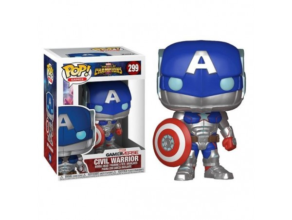 FUNKO POP MARVEL CIVIL WARRIOR