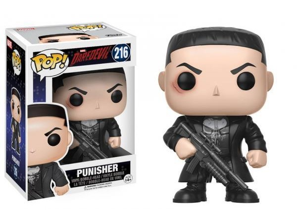 FUNKO POP MARVEL DAREDEVIL PUNISHER