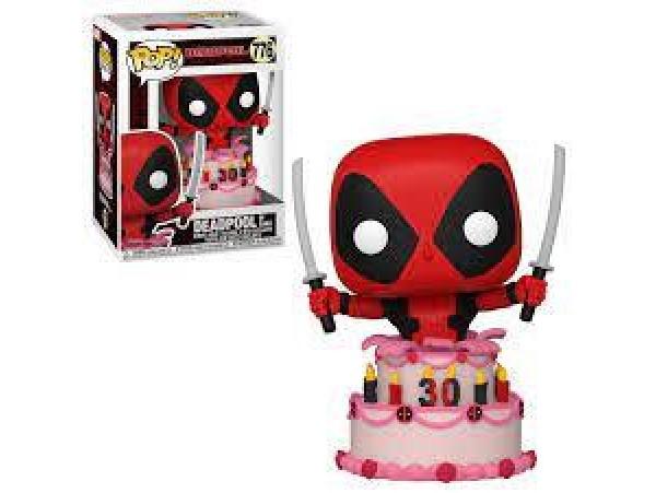 Funko Pop Marvel Deadpool - Deadpool in Cake 30th Anniversary Figürü