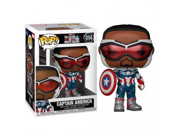 Funko Pop Marvel The Falcon & Winter Soldier Captain America Figürü