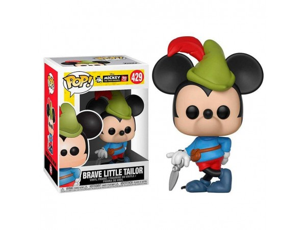FUNKO POP MICKEY BRAVE LITTLE TAILOR FIGURU