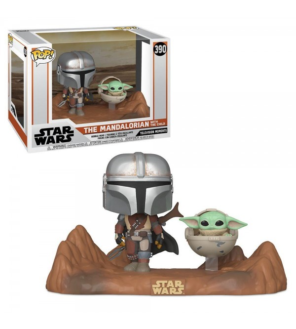 FUNKO POP MOMENT THE MANDALORIAN - MANDALORIAN CHILD