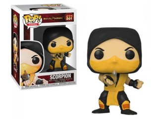 FUNKO POP MORTAL KOMBAT SCORPION FIGURU